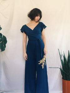 Maria Jumpsuit in Linen