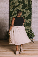 Load image into Gallery viewer, Linen Midi Skirt