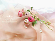 Load image into Gallery viewer, Silk Rose Heads, 12pcs, Pink Artificial Flowers