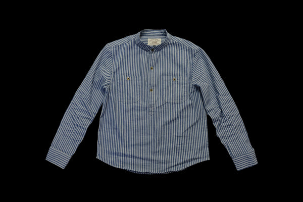 Pullover Stripe Worker Shirt