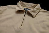 50s Half Zipper Sweatshirt