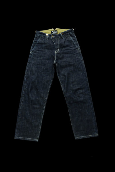 H03 14oz High-Rise Selvedge Jeans