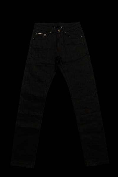 14oz Overdyed Black Denim Jeans