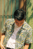 Tiger Pattern Linen Shirt