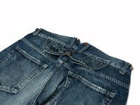 FH02 Damaged Washed Jeans Series【Type B】