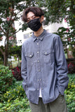 Retro Washed Chambray Shirt