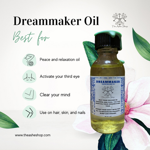 Ashe Anointing Body Oil