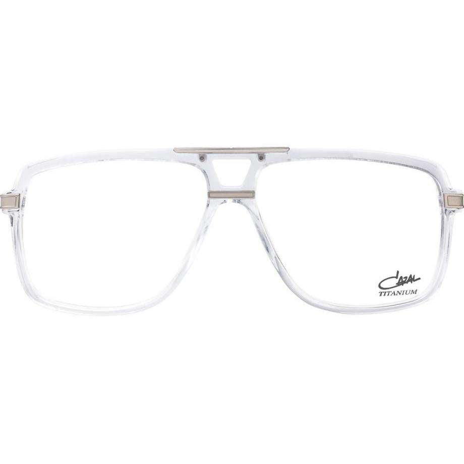 Cazal Model 6018 Square Titanium Glasses
