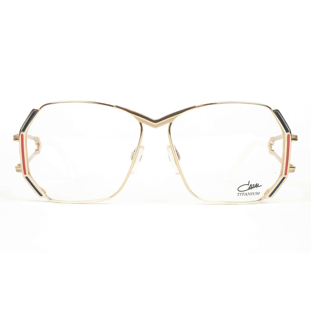 Cazal Model 225 Col.002 Blue Round Glasses