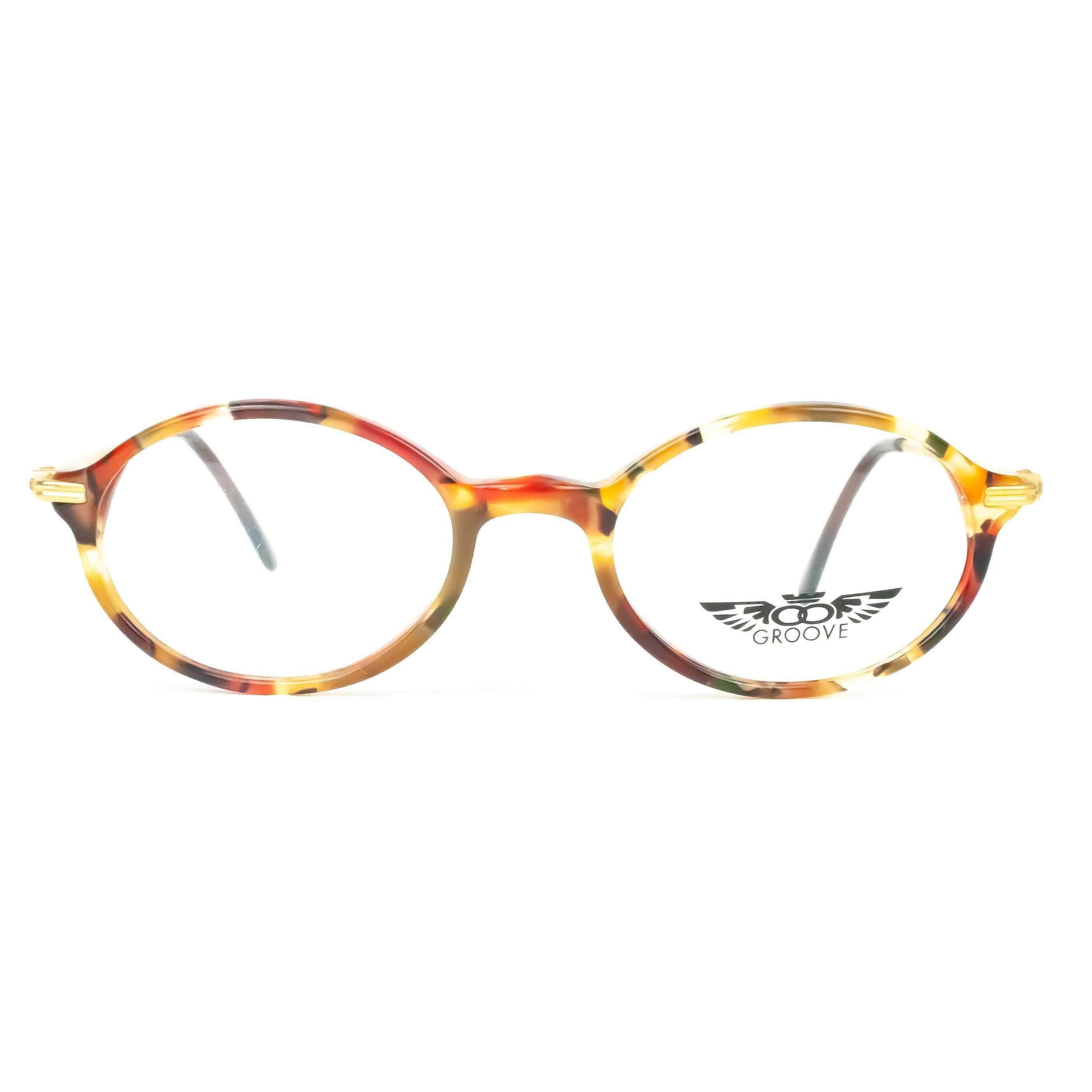Groove by Kevin Young Red Round Glasses