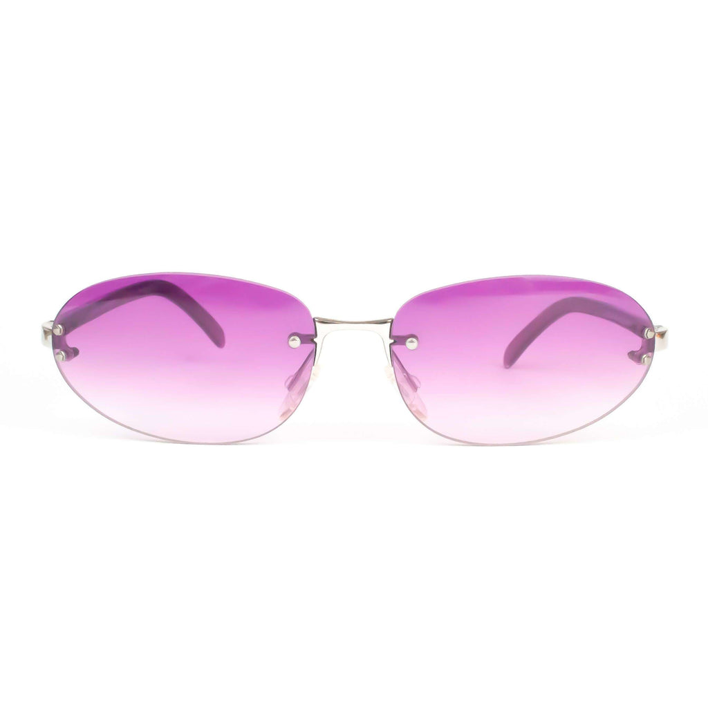 Fendi Model SL7327 Oval Pink Sunglasses