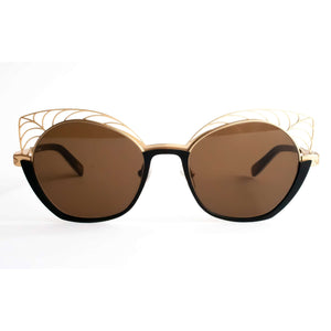 BOZ Hype Black Cat Eye Sunglasses