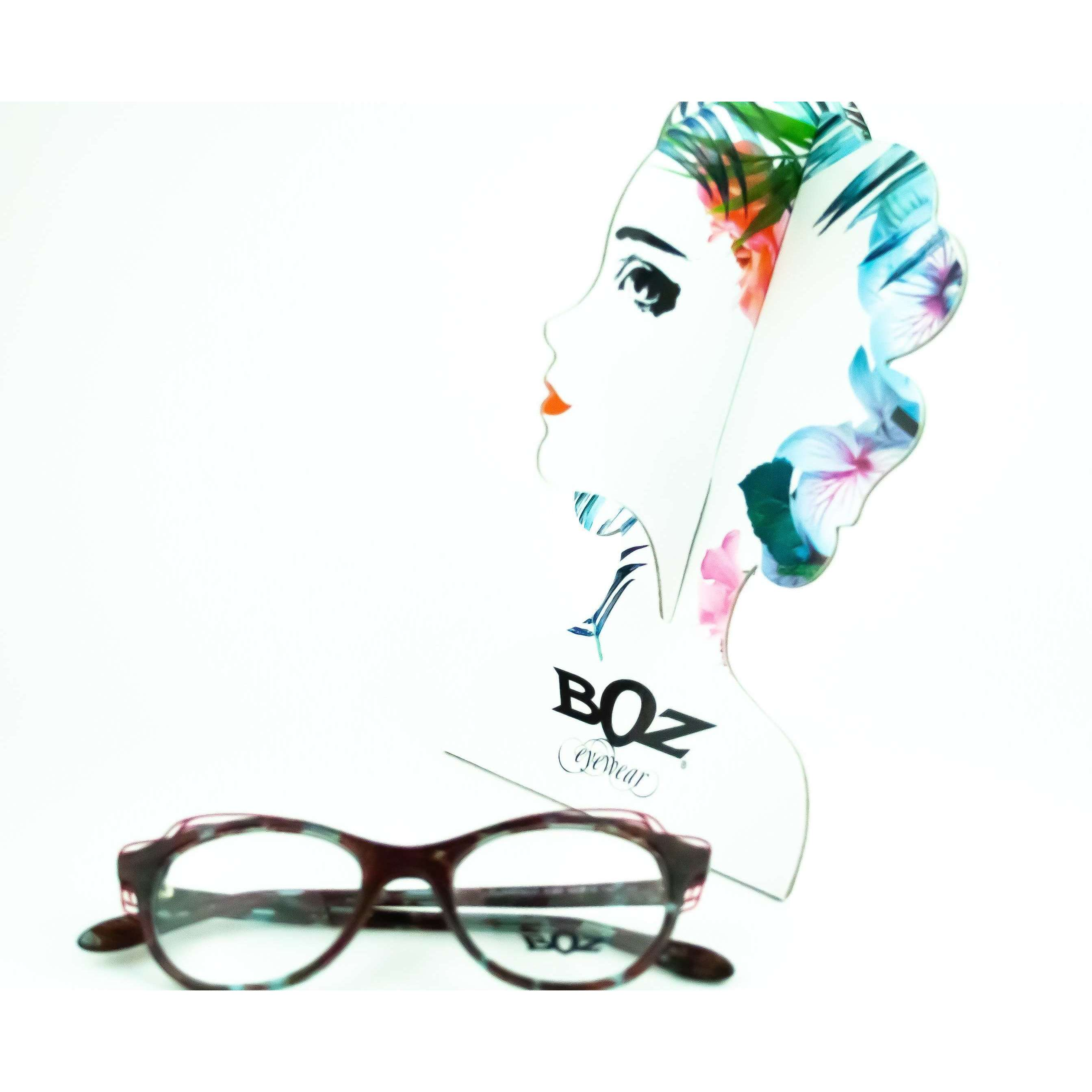 BOZ Flamenco Cat Eye Glasses