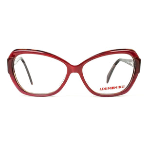 Alain Mikli Model ML1311 Red Cat Eye Oversize Glasses