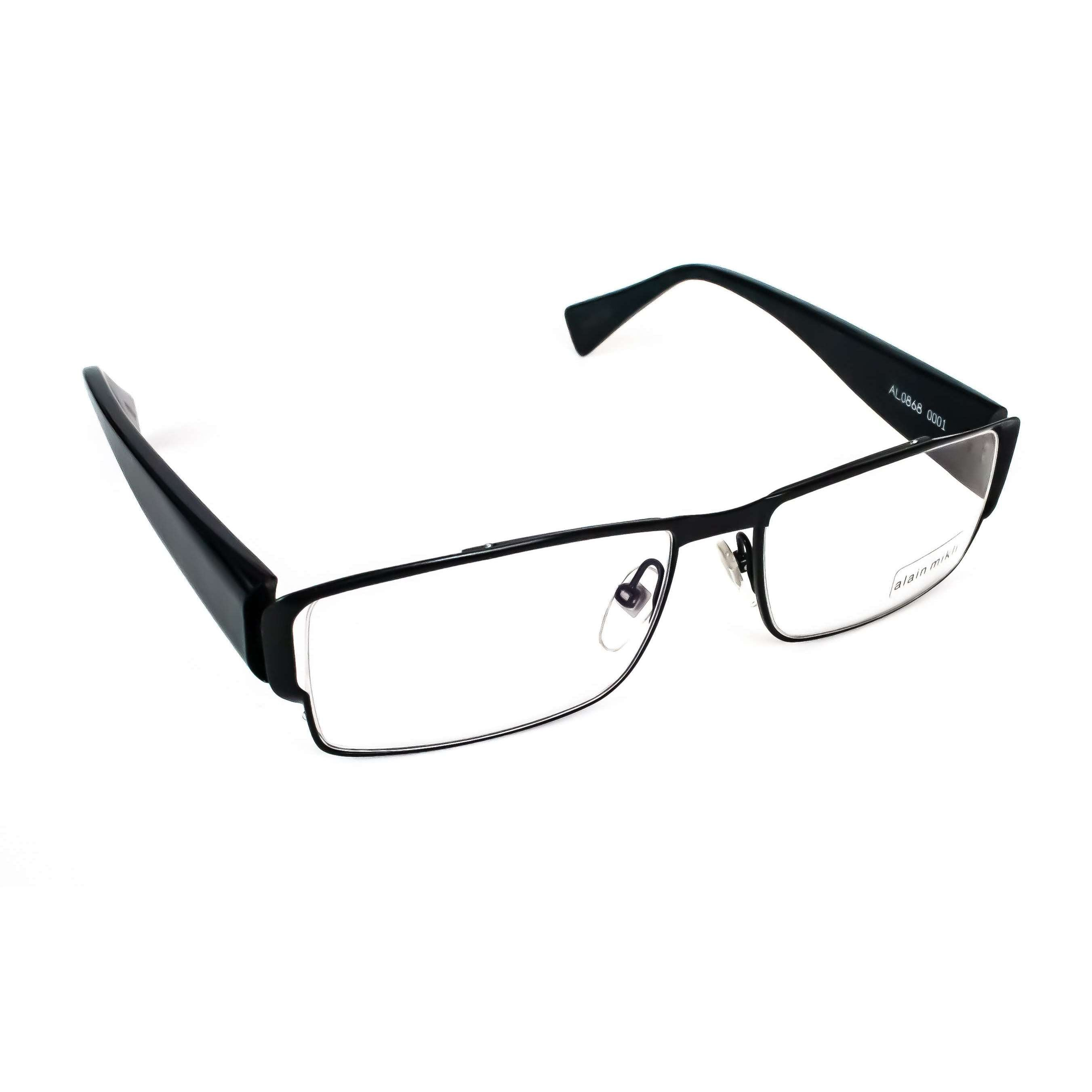 Alain Mikli Model AL0868 Black Glasses