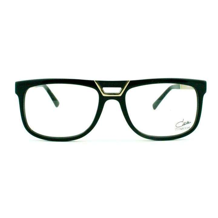 Cazal Model 6017 Col 001 Black Glasses