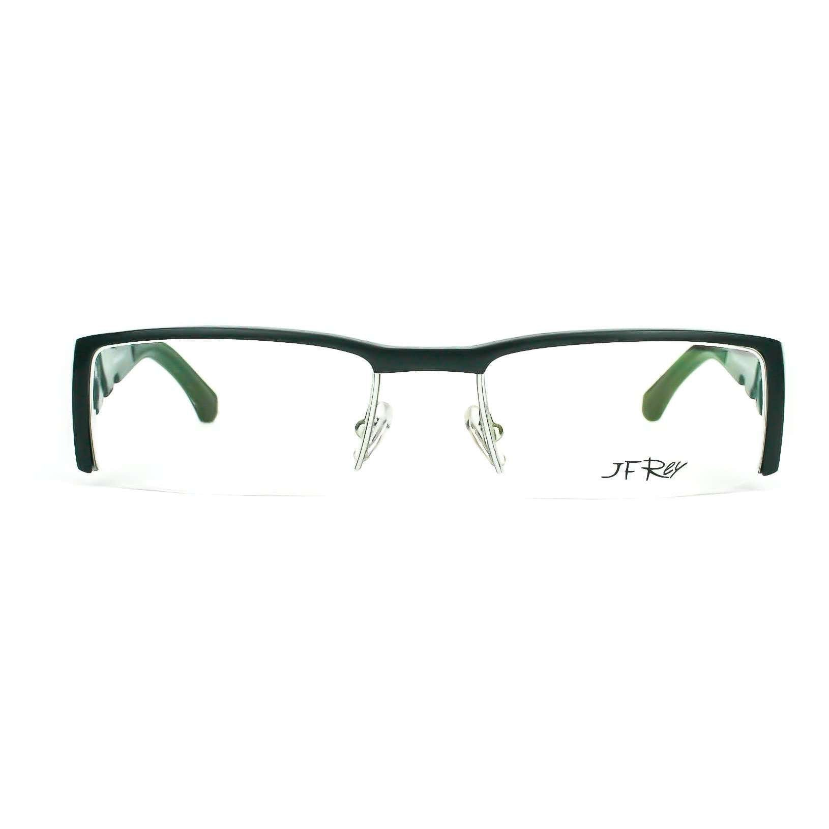 JF Rey Model 2281 Black and grey metal Glasses