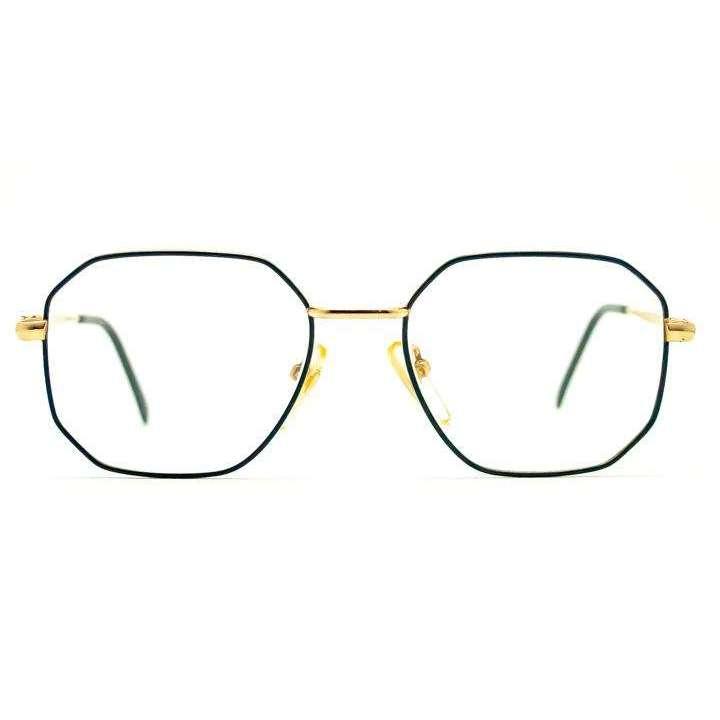 Octavia Navy Blue Square Glasses