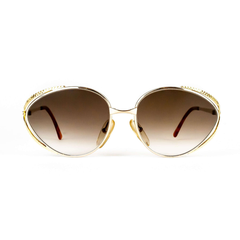 Christian Dior Model 2804 Oval Sunglasses