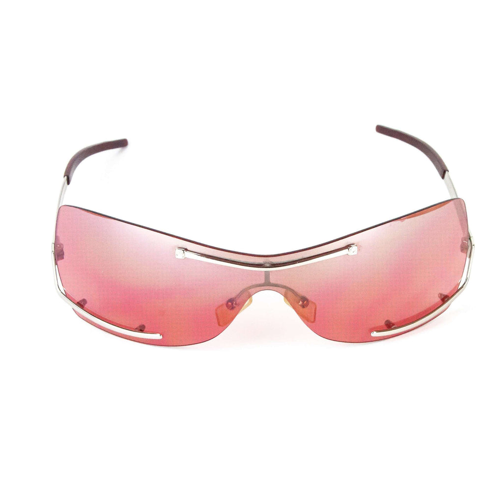 Loewe Vintage Sunglasses Model SLW056 Pink Sunglasses
