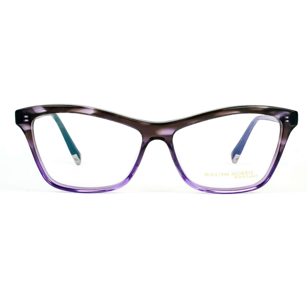 William Morris Black Label Model BL035 Cat Eye Grey Unisex Glasses