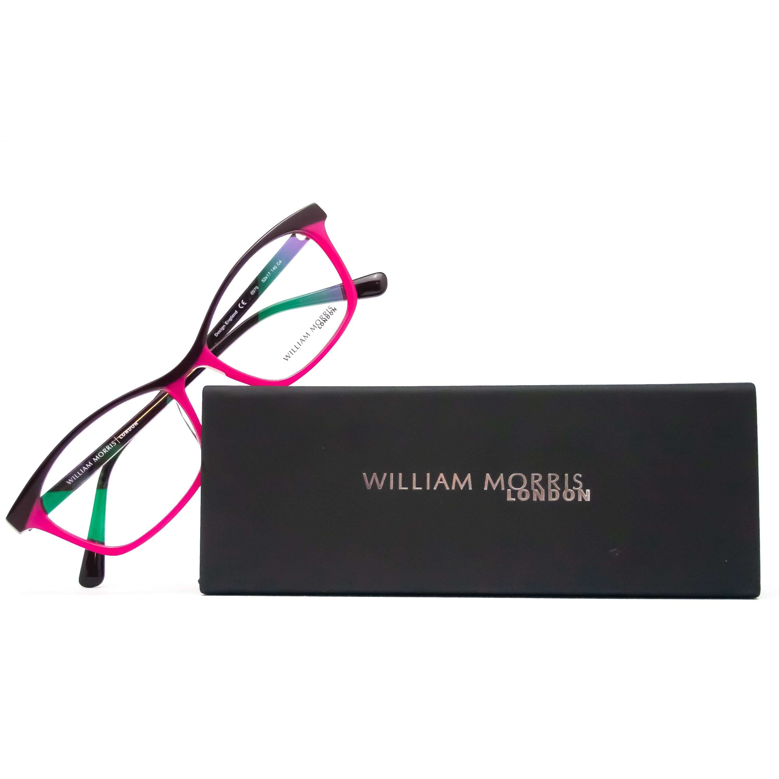 William Morris London Model 6979 Black Cat Eye Glasses
