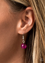 Load image into Gallery viewer, Sorry To Burst Your Bubble - Purple Necklace with Earrings
