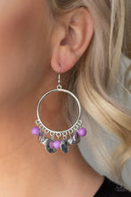 Load image into Gallery viewer, Chroma Chimes - Purple Earring