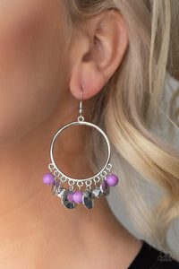 Chroma Chimes - Purple Earring