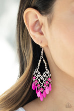 Load image into Gallery viewer, Shore Bait - Pink Earrings