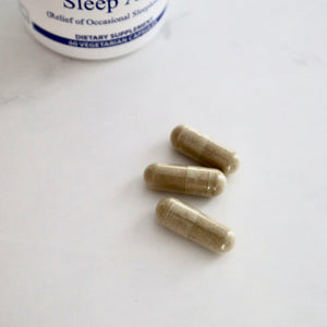 Sleep Aide Formula - Low Dosage Melatonin 0.75mg