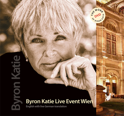 byron katie live event wein dvd bki store for the work. Black Bedroom Furniture Sets. Home Design Ideas