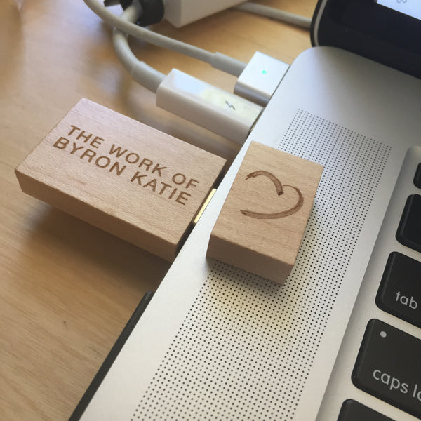 USB Bamboo The Work of Byron Katie Drive 8GB