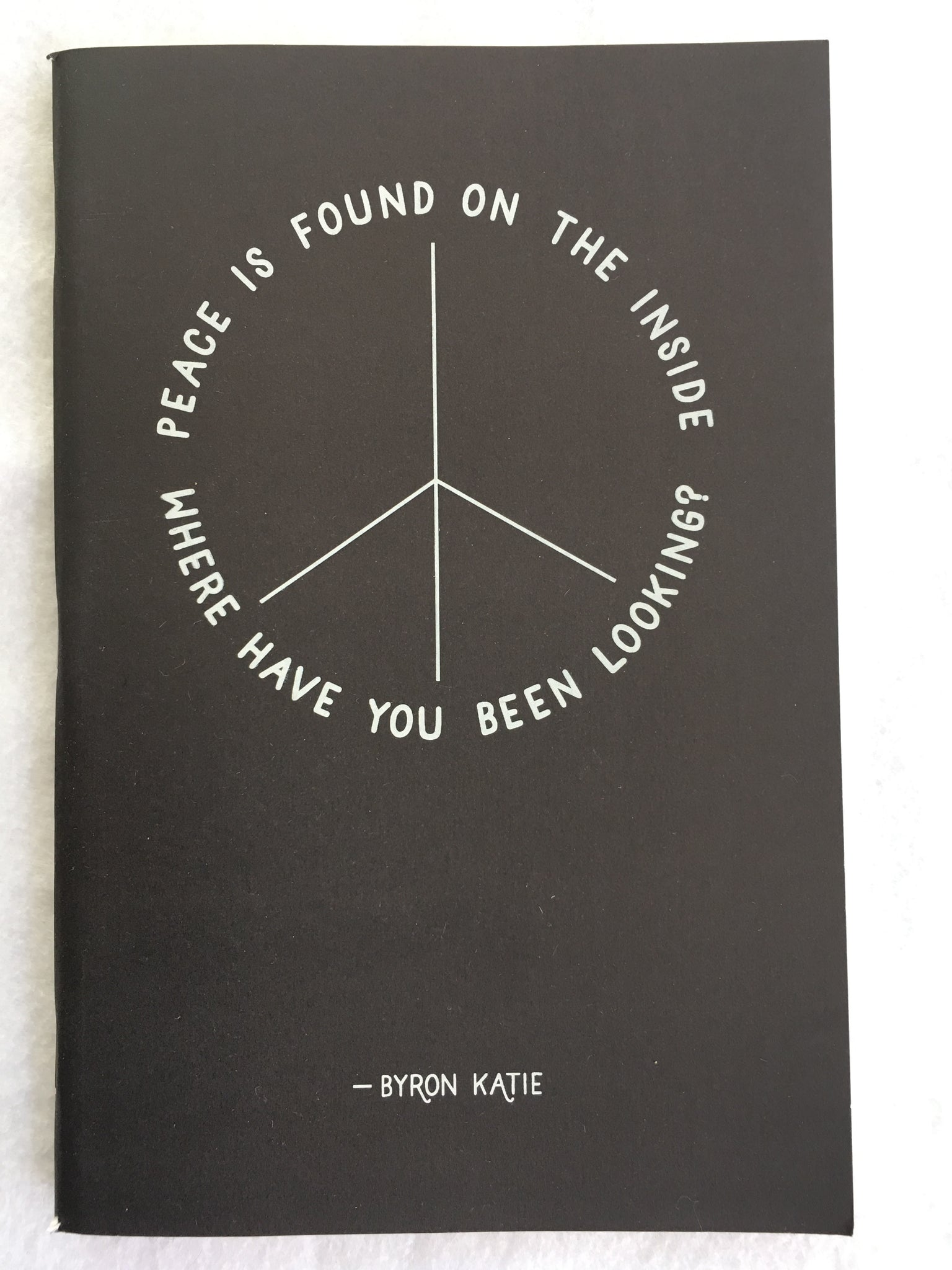 Peace Is Found... Soft Cover Journal
