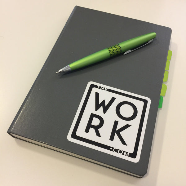 thework.com Diecut Sticker