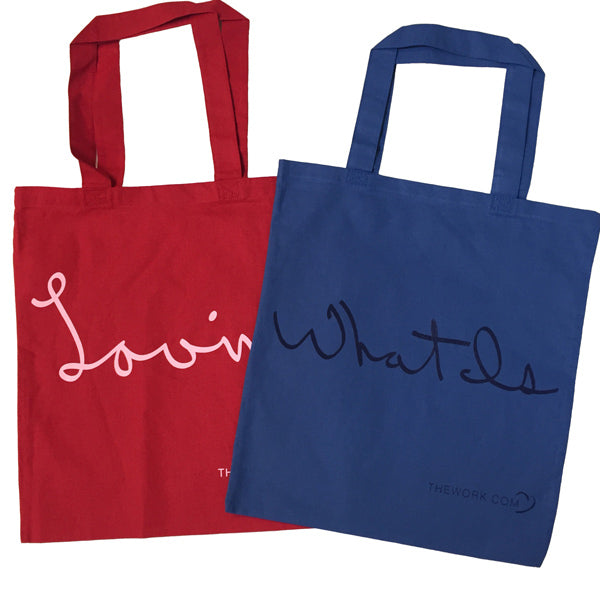 Loving What Is Colorful Tote Bag