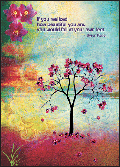 Inspirational Cards by Byron Katie