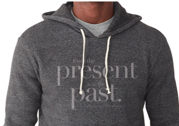 Byron Katie's Even The Present... Eco Pullover Hoodie