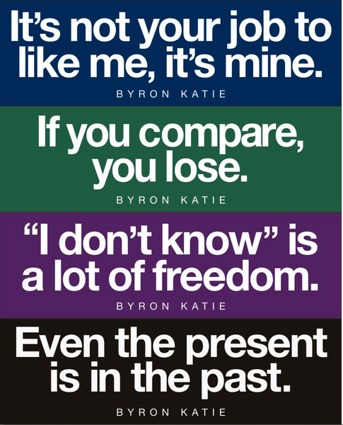 Byron Katie Quotes on Bumper Stickers