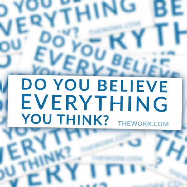 Do You Believe... Bumper Sticker
