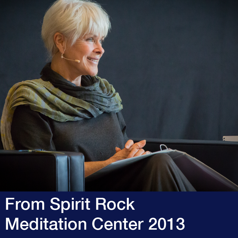 Spirit Rock Meditation Center 2013 with Byron Katie
