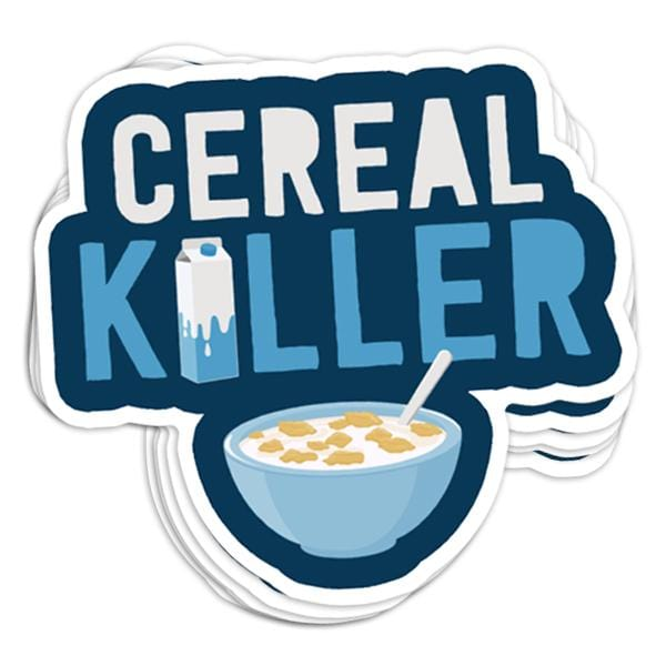 Cereal Killer Vinyl Sticker
