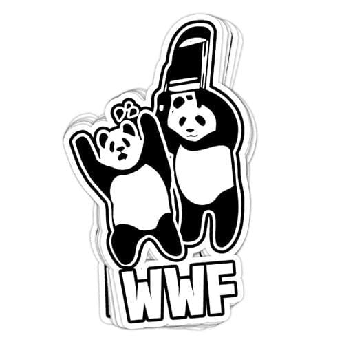 WWF Vinyl Sticker