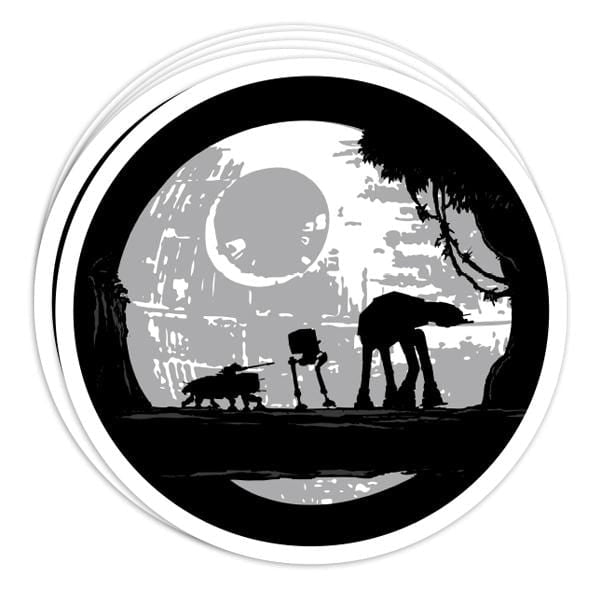 Imperial Moonwalkers Vinyl Sticker