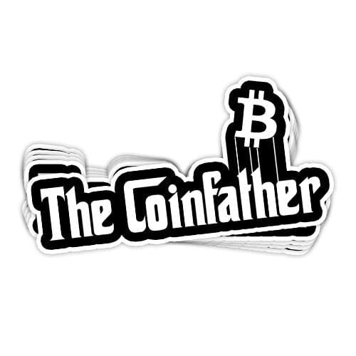 The Coinfather Vinyl Sticker