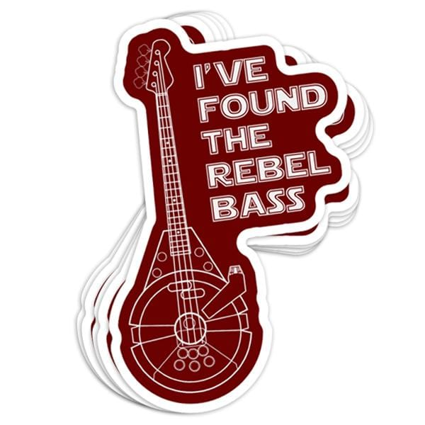 Rebel Bass Vinyl Sticker