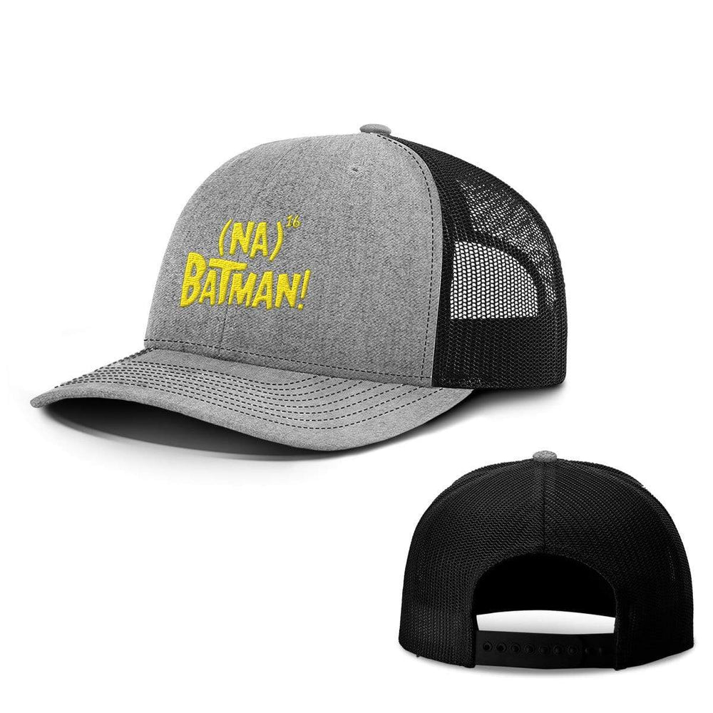 BustedTees.com Snapback / Heather and Black / One Size Hero Song Hats