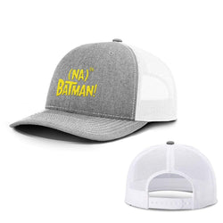 BustedTees.com Snapback / Heather and White / One Size Hero Song Hats