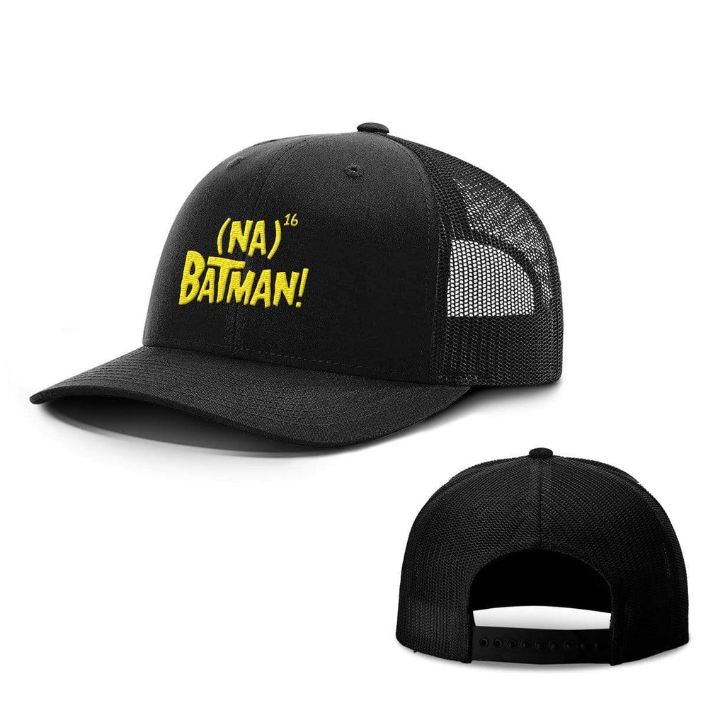 BustedTees.com Snapback / Full Black / One Size Hero Song Hats