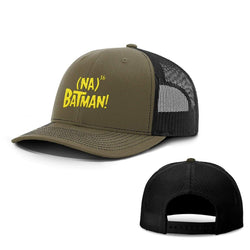 BustedTees.com Snapback / Loden and Black / One Size Hero Song Hats